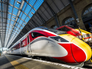 The first Hitachi Azuma trains begin operating on the East Coast Main Line