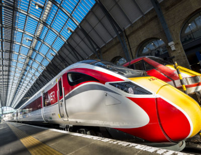 Hitachi Azuma Enters Service for LNER