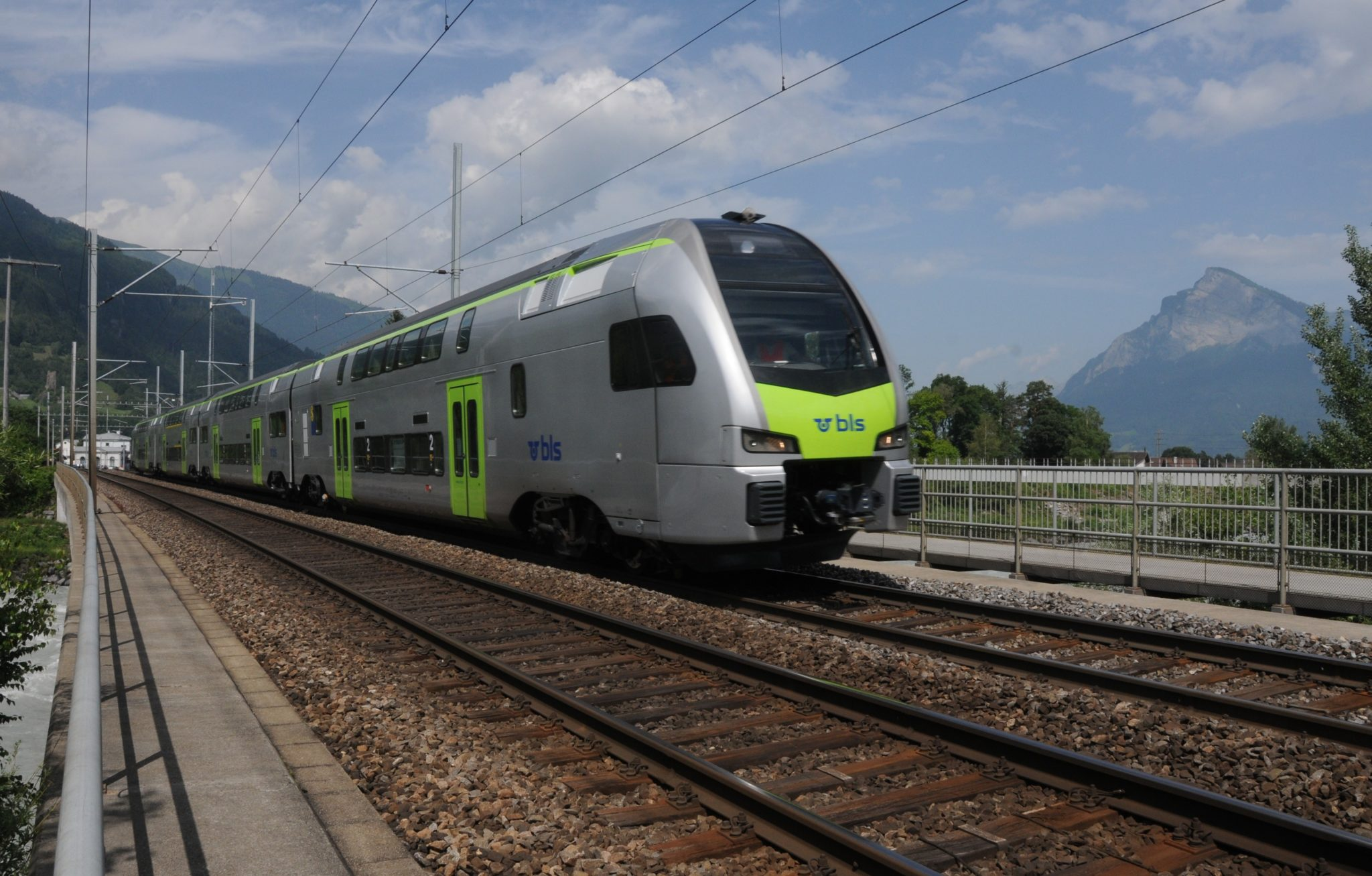 Stadler KISS train for BLS