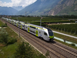 Stadler KISS 'MUTZ' train for BLS