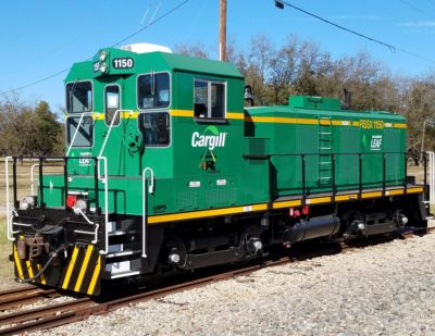 LEAF Switching Shunting Locomotive