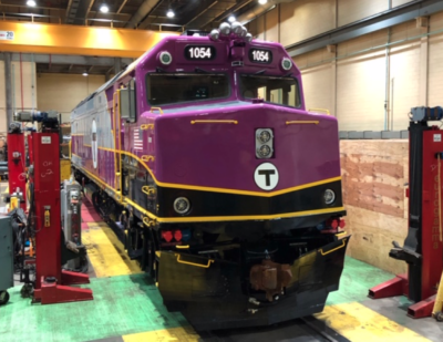 MBTA Overhauls 27 Additional F40 Locomotives