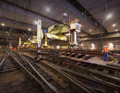 Amtrak Continues New York Penn Station Renewal Works