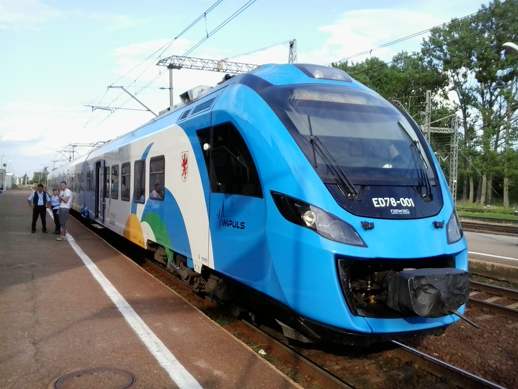 Western Pomerania's Newag IMPULS fleet to undergo routine maintenance