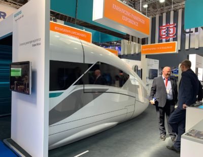 Siemens Presents Velaro Novo Train at Railtex