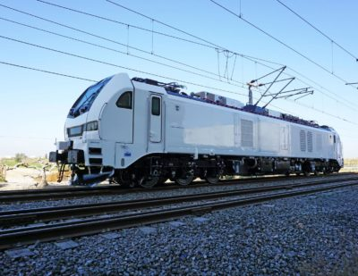 Stadler Delivers More Hybrid Locomotives for European Freight Corridors