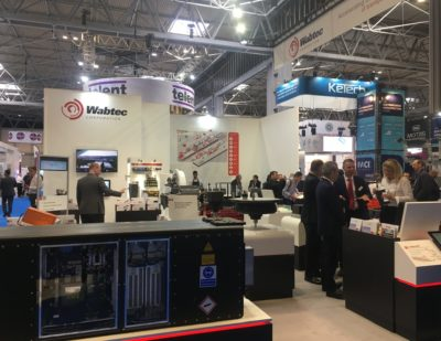 Today at Railtex: Day 2 – 15 May 2019