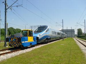 Zephir CRAB Electric Shunting Locomotive