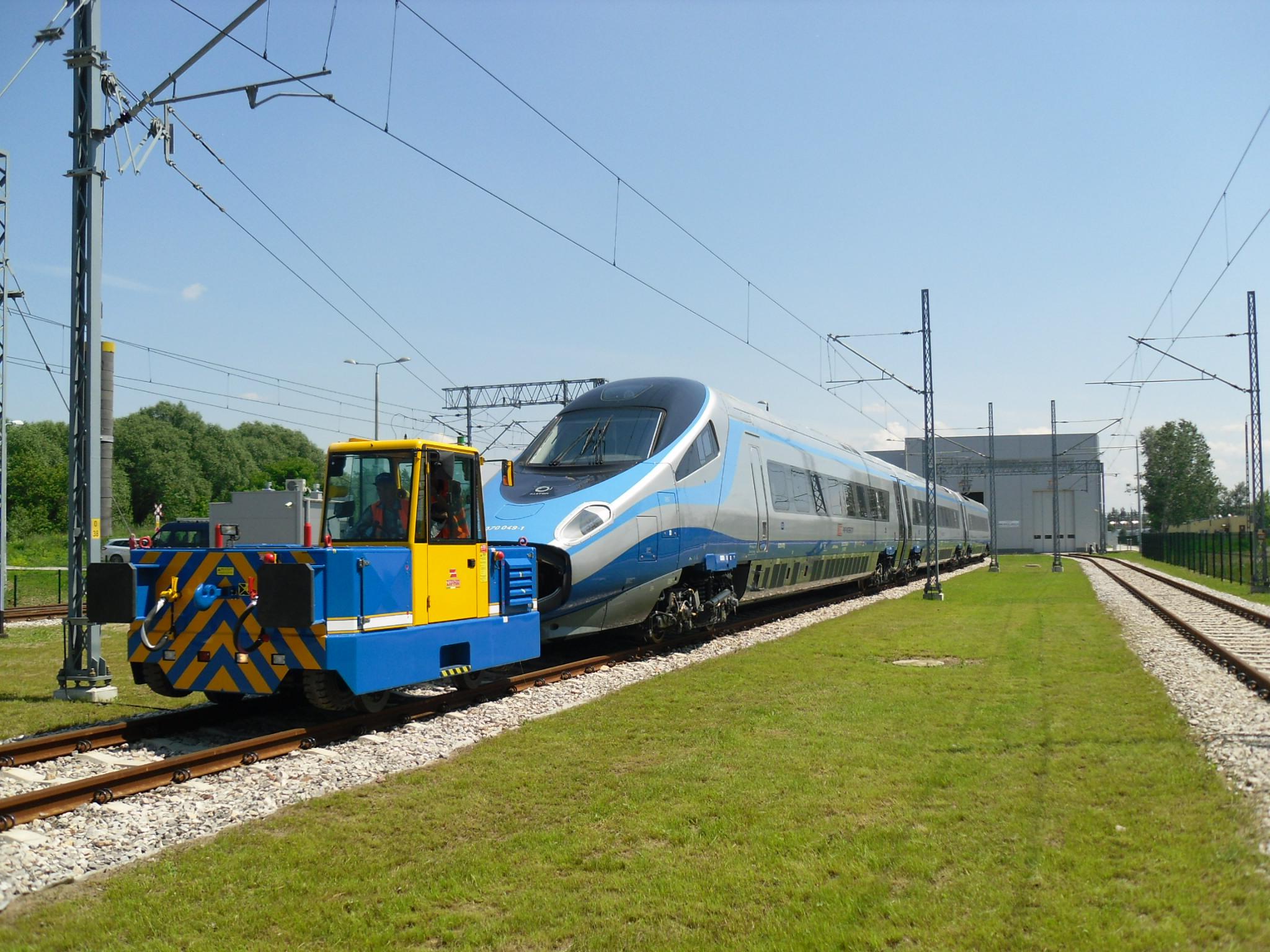 CRAB Electric Shunting Locomotive