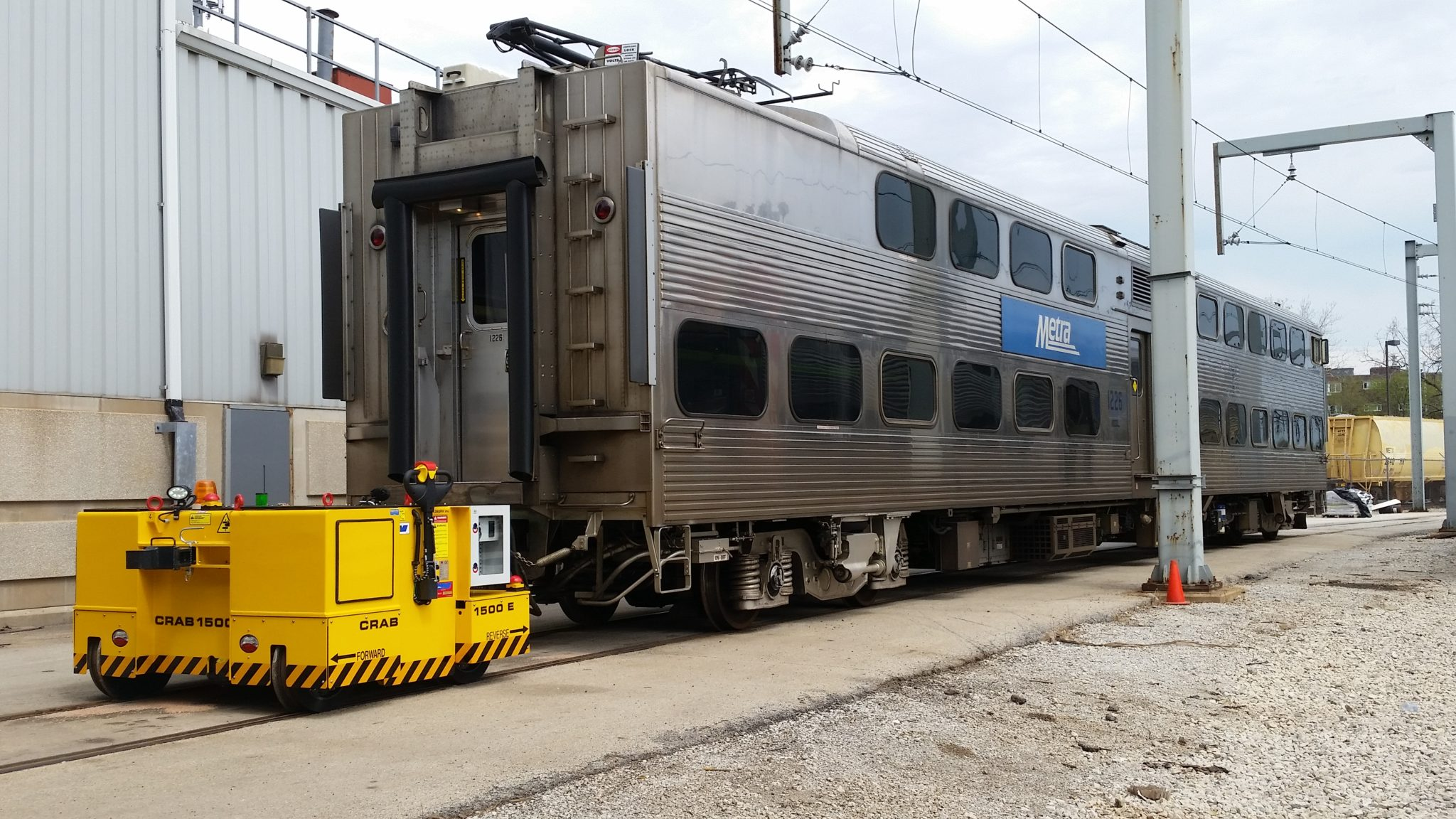 LINE CRAB Electric Railcar Mover
