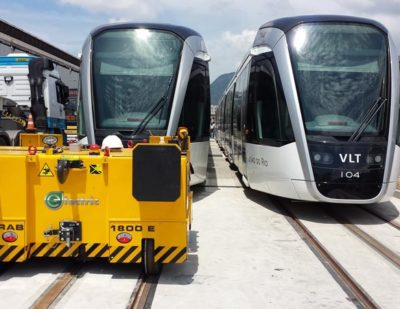 Zephir LINE CRAB Electric Railcar Movers