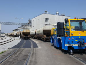 Electric Railcar Movers