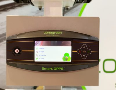 Zonegreen Launch Depot Protection RFID Control Panel at Railtex