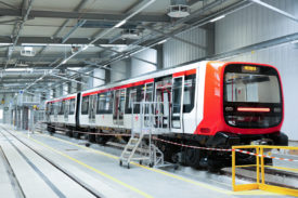 The new Alstom metro for Lyon Line B