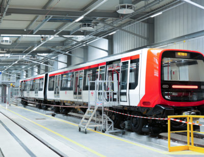 Alstom Delivers First MP16 Metro Train for Lyon