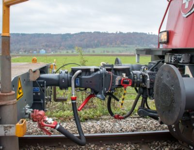 SBB Cargo Launches Autocouplers