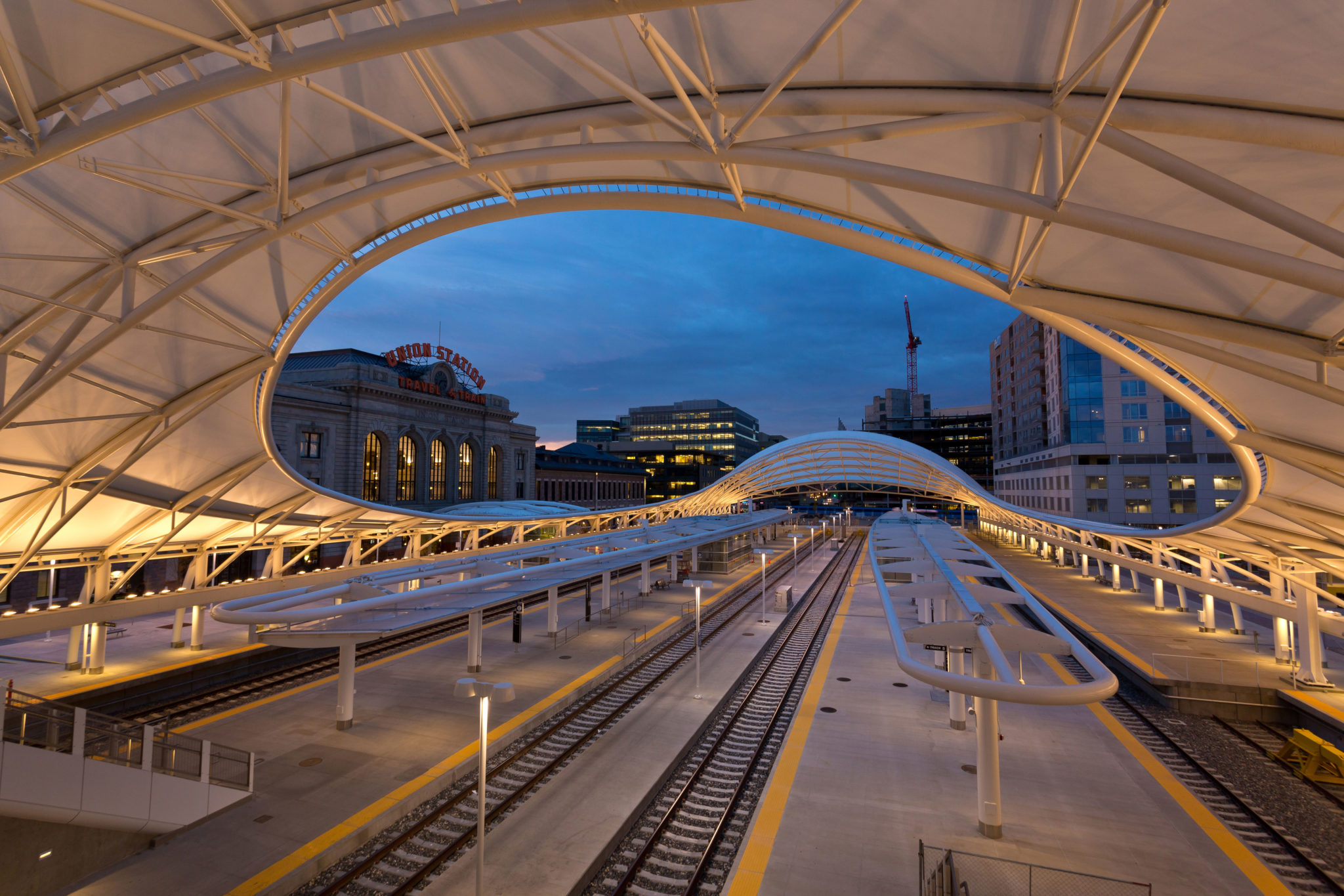 Union Station, Denver, is the terminal for the University of Colorado A Line