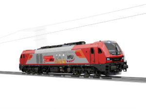 Stadler EURO 4001 six-axle locomotive for VFLI