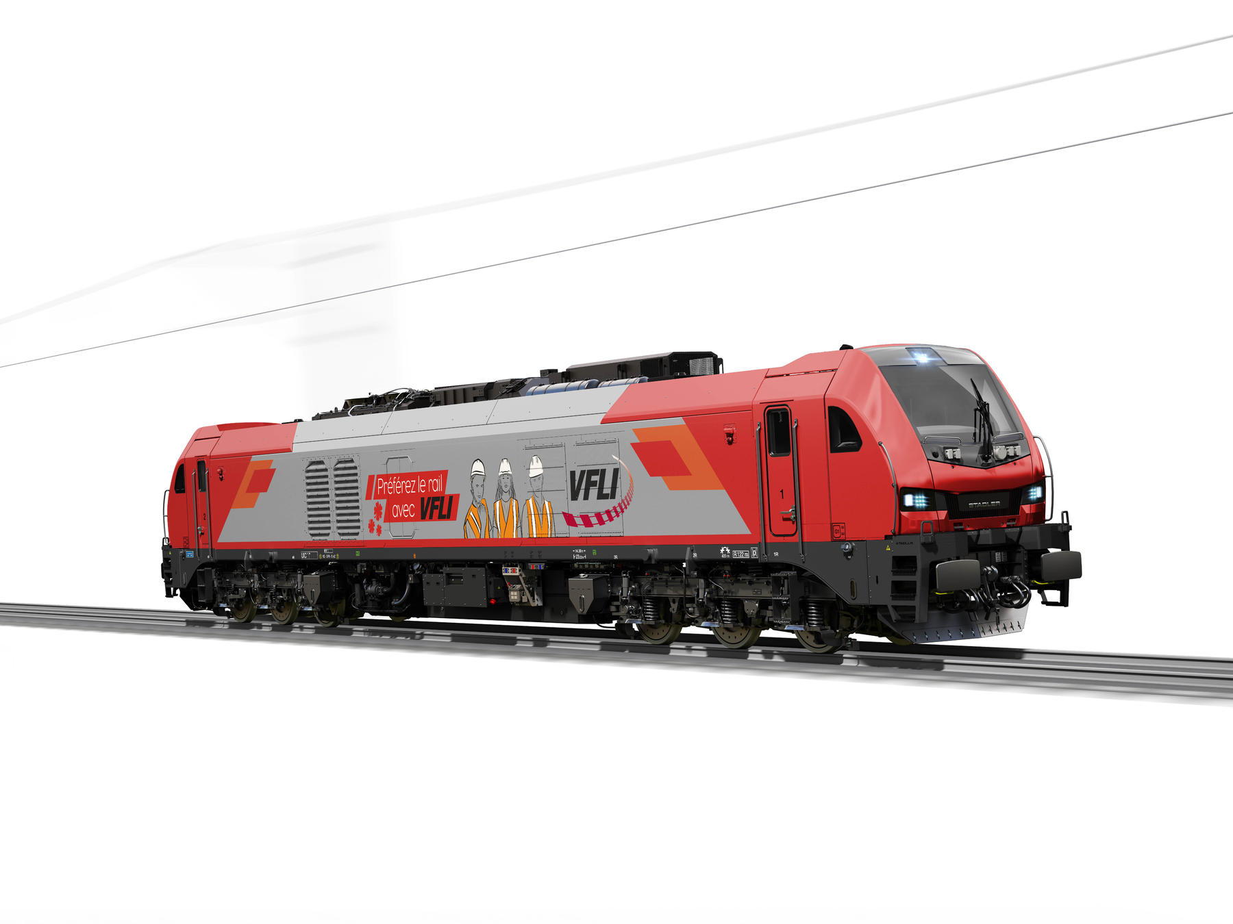 Stadler EURO 4001 six-axle locomotive for VFLI