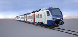 Stadler FLIRT train for Bremen/Lower Saxony operator NordWestBahn