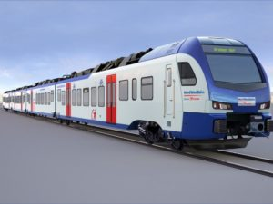 Stadler FLIRT train for Bremen/Lower Saxony operator NordWestBahn