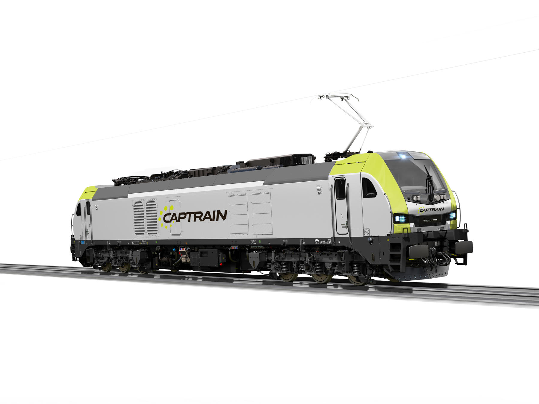 Stadler Eurodual six-axle locomotive