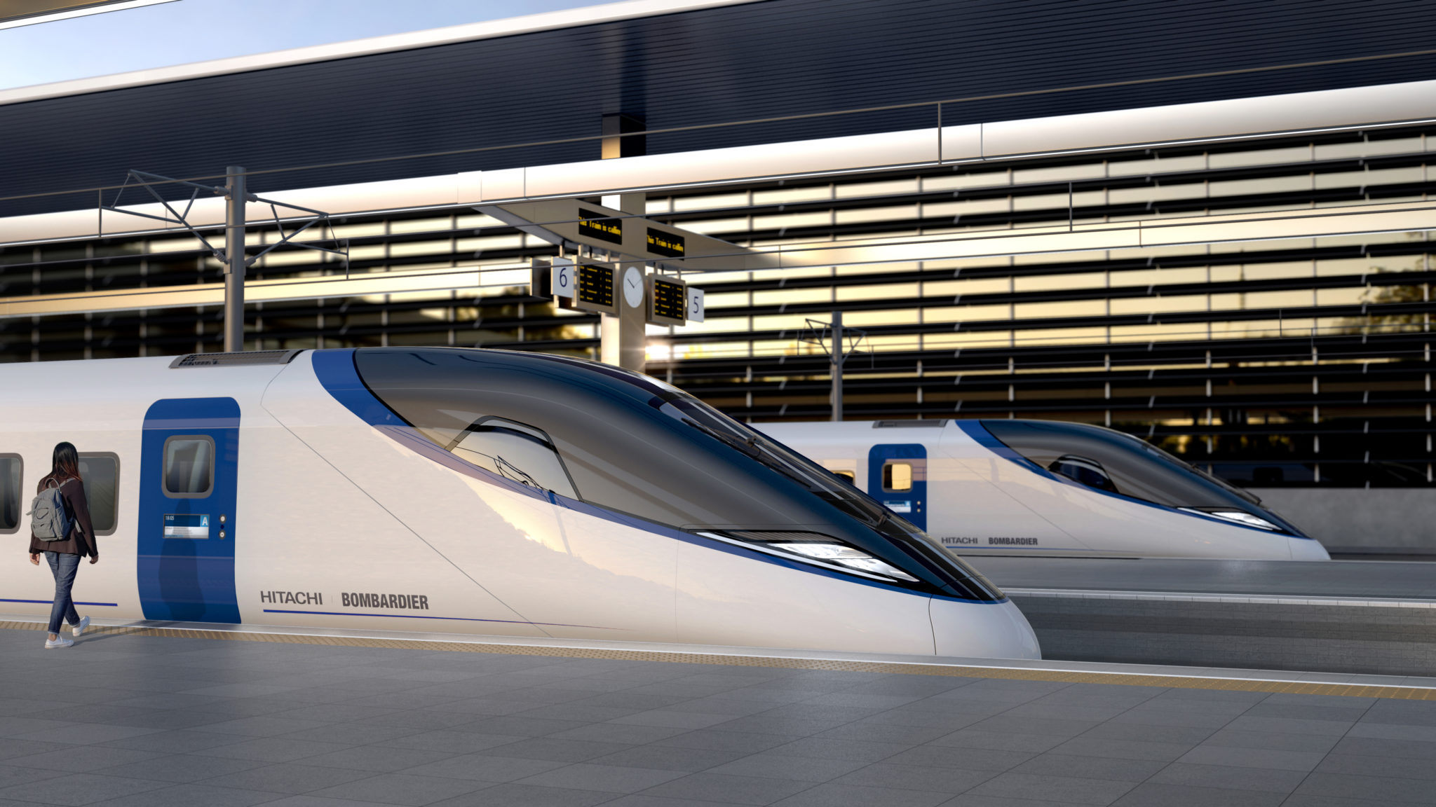 Bombardier-Hitachi HS2 train design
