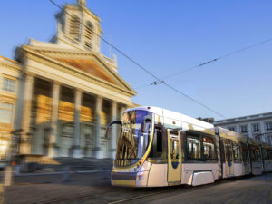 Bombardier Transportation FLEXITY tram for Brussels