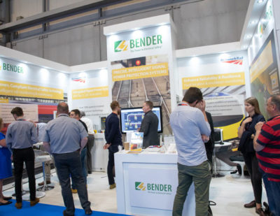 Overwhelming Response to Bender's RS4 at Railtex
