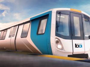 Bombardier Transportation Fleet of the Future train for Bay Area Rapid Transit