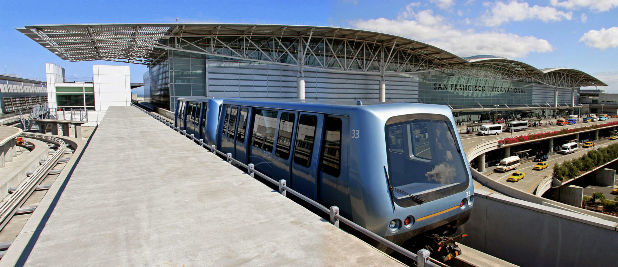 Bombardier Innovia APM 100 Airtrain California