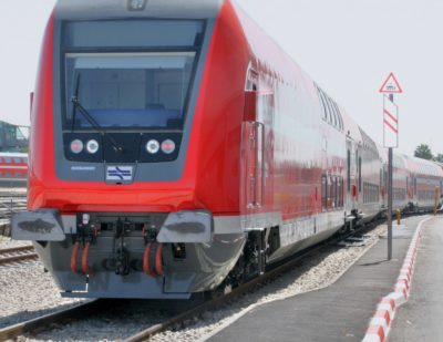 Israel Railways Buys 74 TWINDEXX Vario Coaches