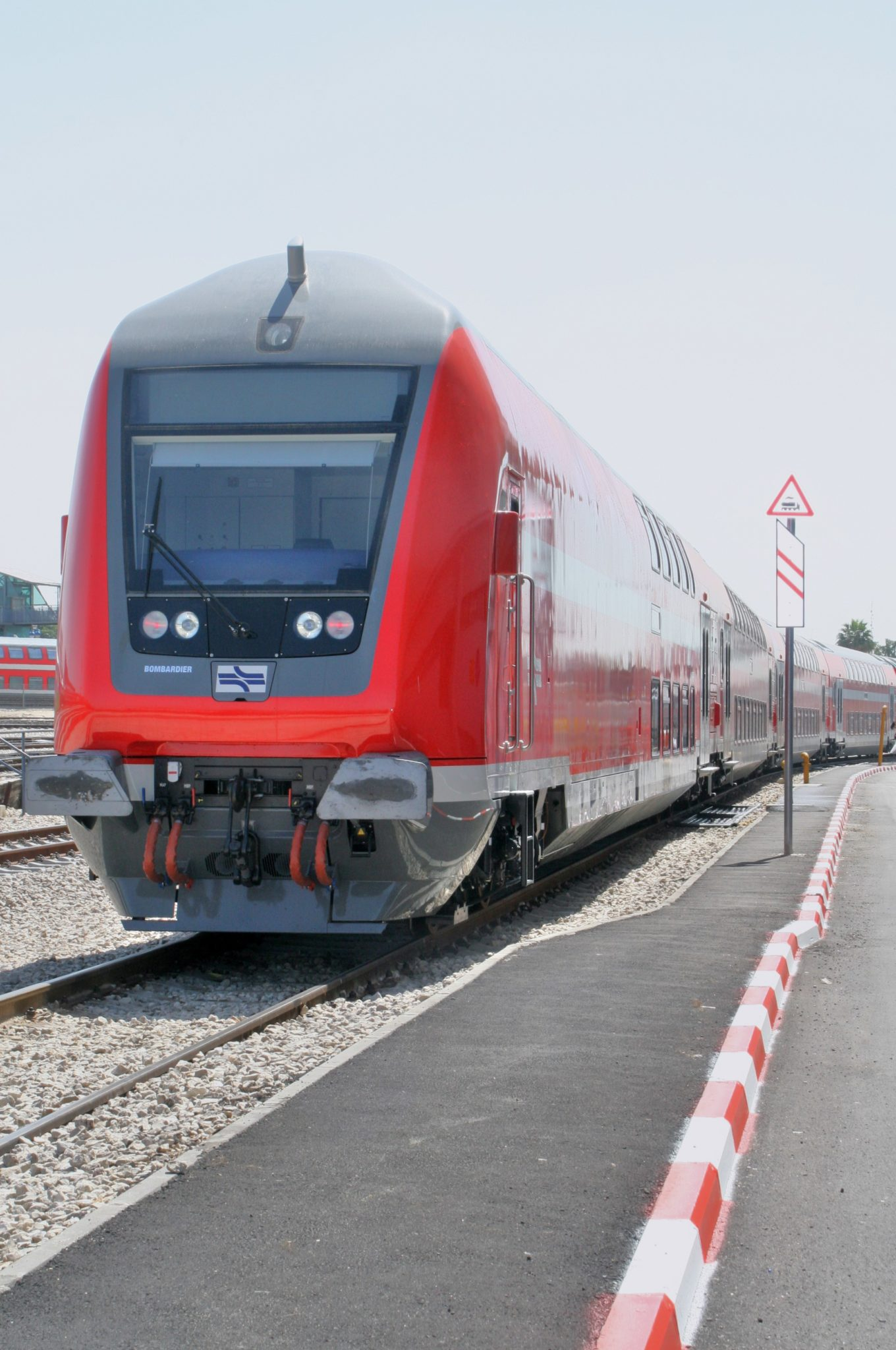 Bombardier TWINDEXX Vario for Israel Railways