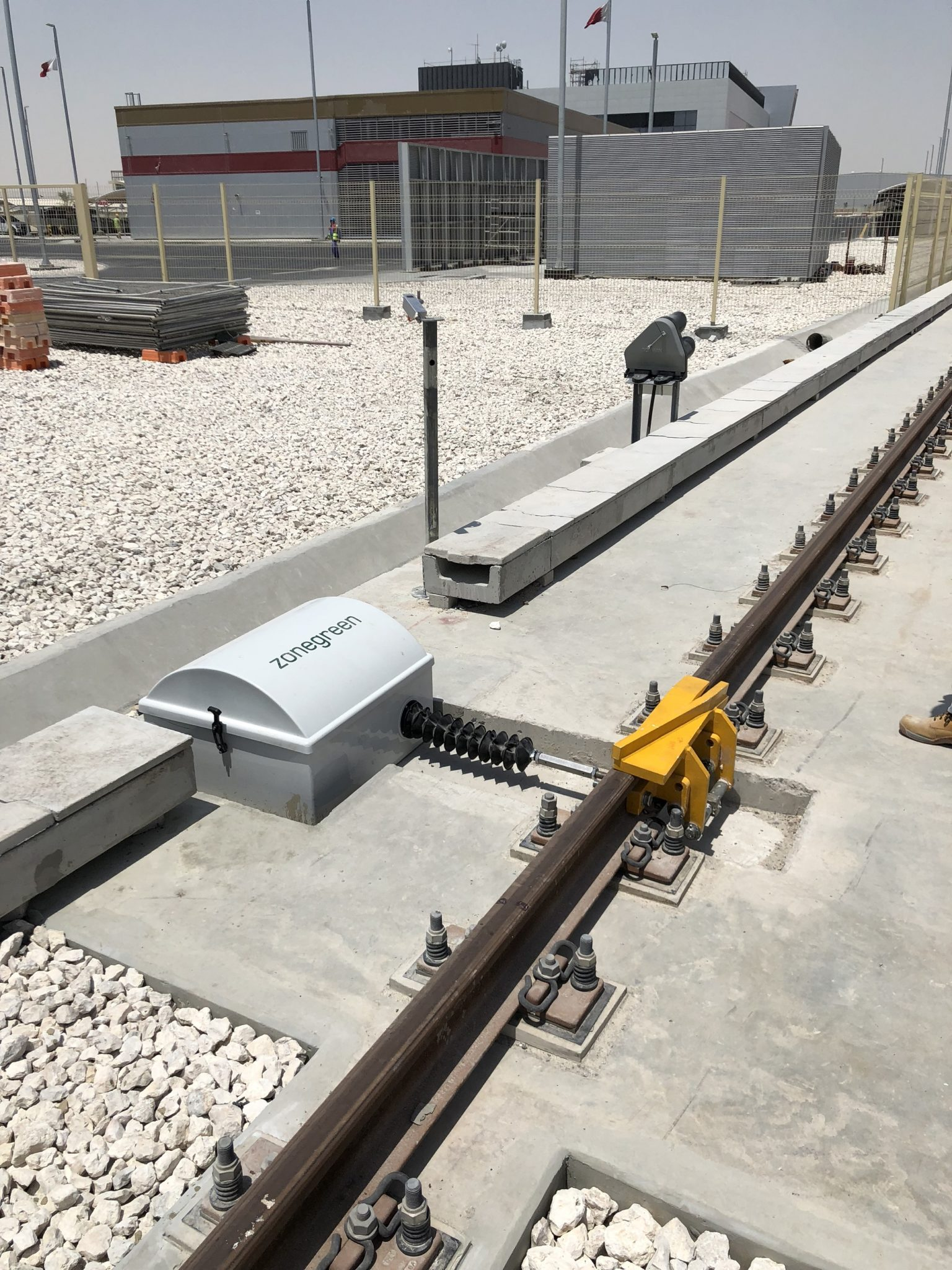Zonegreen Derailer for Depot Safety