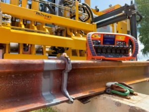 Induction Rail Welding