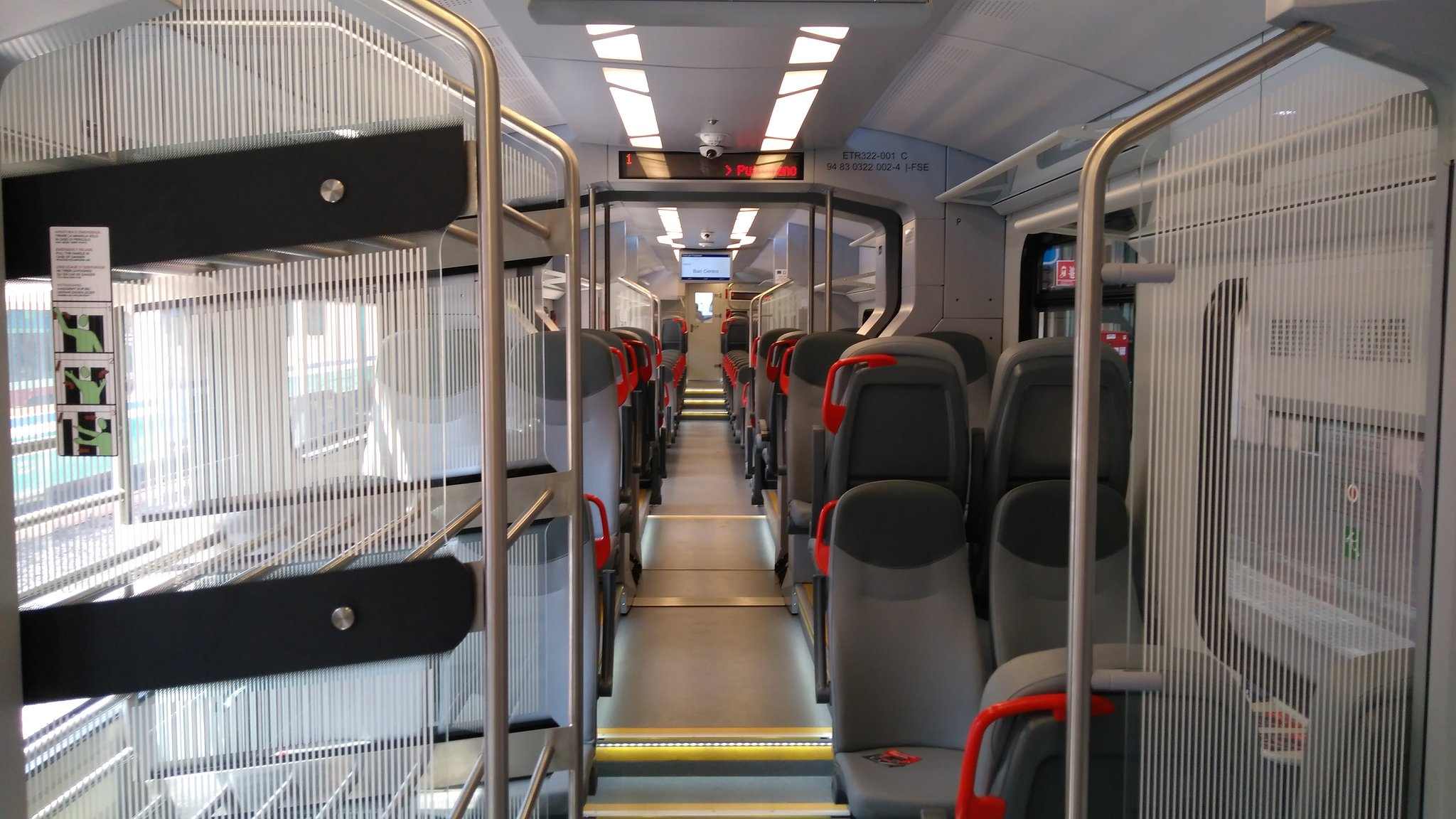 Impuls Newag for FSE Interior with luggage rack