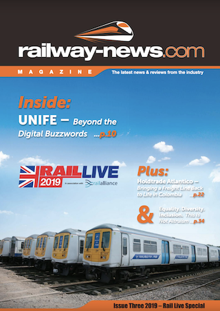 Railway-News Rail Live 2019 Magazine