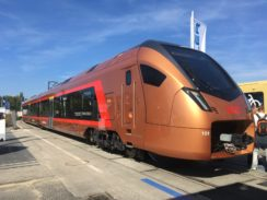 Stadler FLIRT Traverso for SOB at InnoTrans 2018