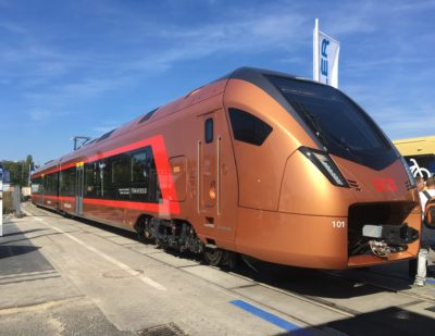 Stadler Traverso Enters Regular Passenger Service