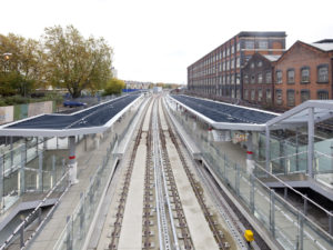 DLR Stratford International extension
