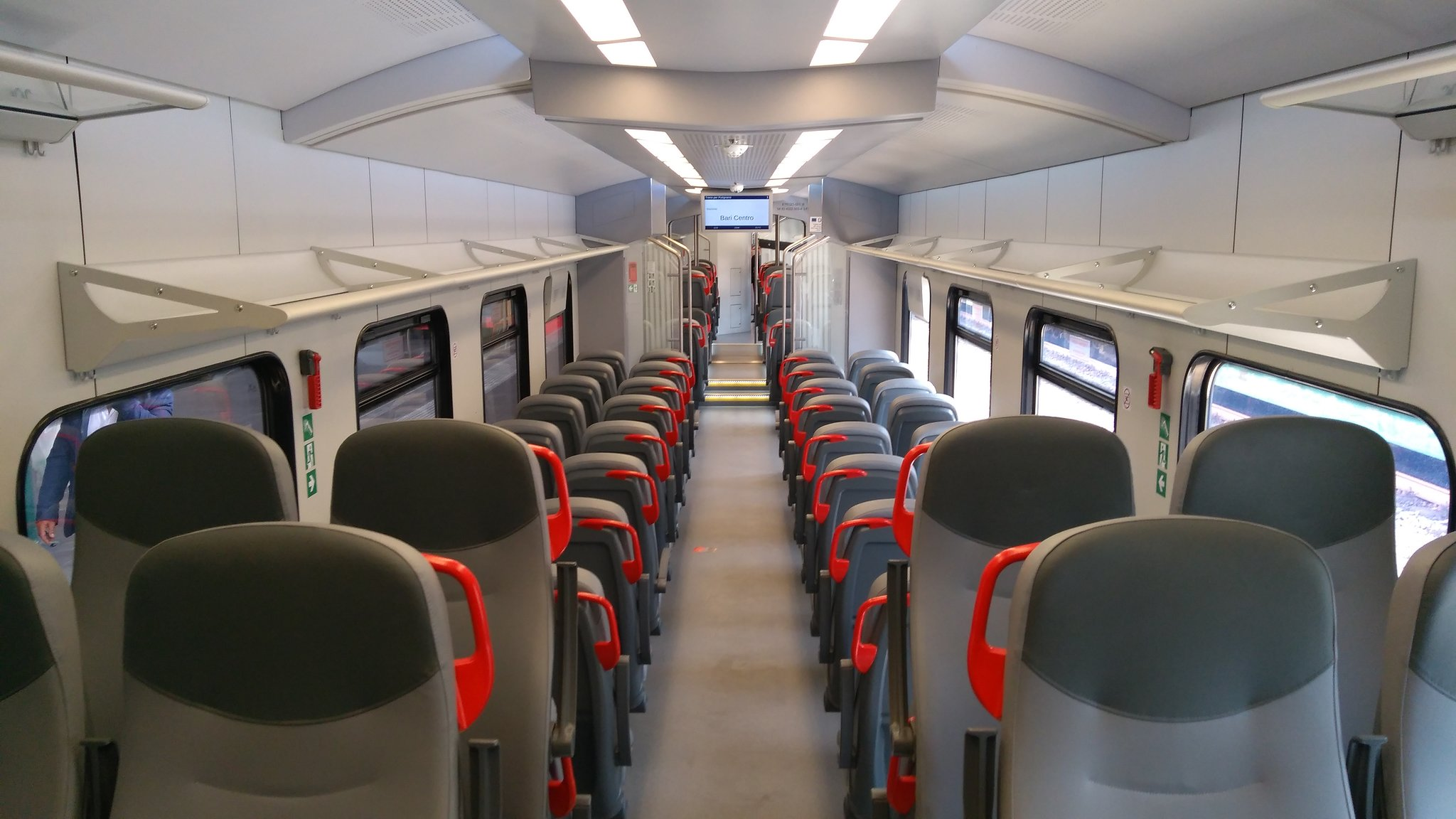 Interior of the Newag Impuls for FSE