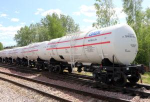 UWC Ships 26 Tank Cars to GATX Rail Vostok