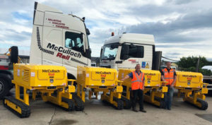 Unipart Rail Successfully Delivers First TRT's for McCulloch Rail