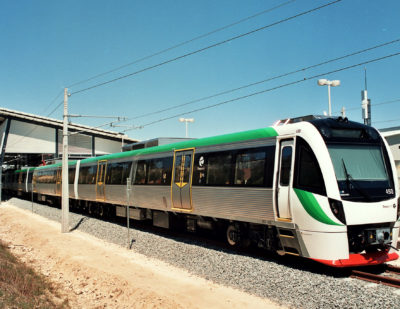 Last of 30 B-Series Trains for Transperth Delivered