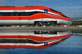 Hitachi and Bombardier will design and manufacture 14 ETR1000 trains for Trenitalia