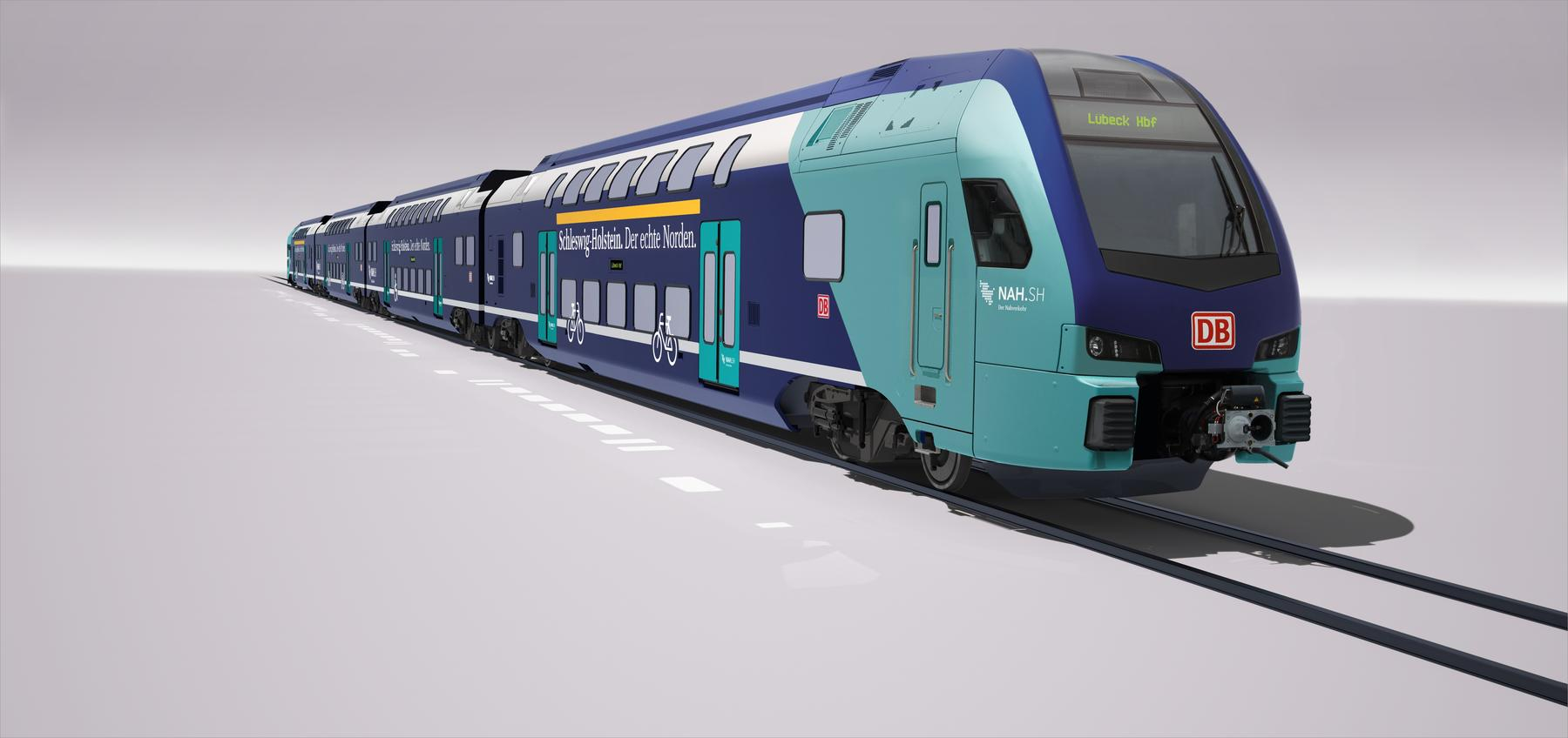 Stadler KISS design for DB Regio