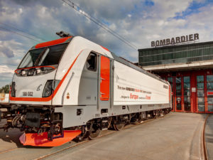 Bombardier TRAXX MS3 locomotive