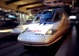 2 Talgo 350 high-speed trains for Renfe in Spain