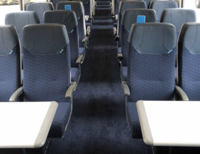 Axminster Carpets Supply Sustainable Flooring for 825 SWR Vehicles