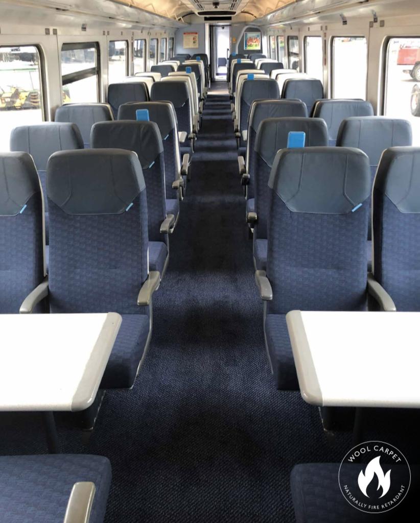 Axminster Carpets Woven Train Carpet